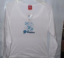 5th & Ocean NFL  Miami Dolphins T-Shirt -  X-Large -Petite