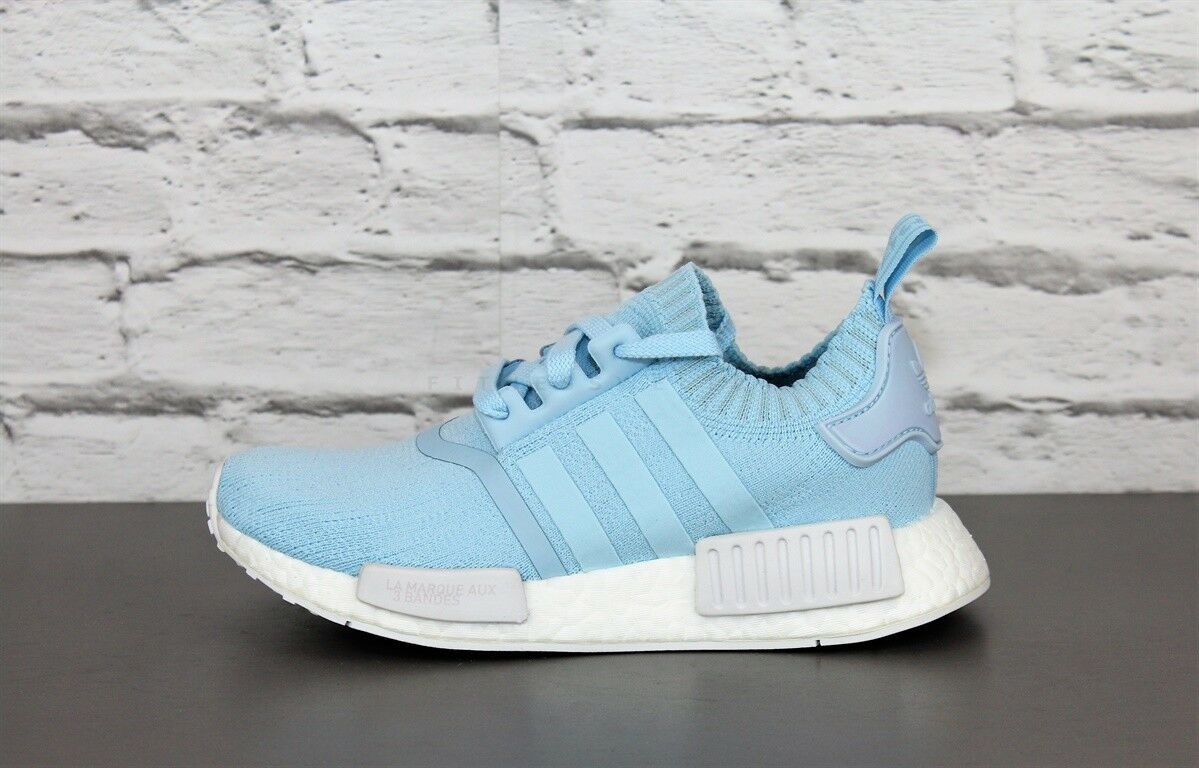 Adidas NMD r1 W Primeknit by8763 bleu femmes chaussures FonctionneHommest chaussures Trainers Sports chaussures