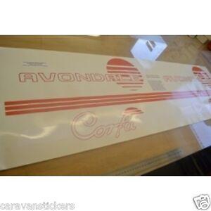 AVONDALE Corfu Caravan Stickers Decals Graphics SET OF EBay - Graphics for caravanscaravan stickers ebay