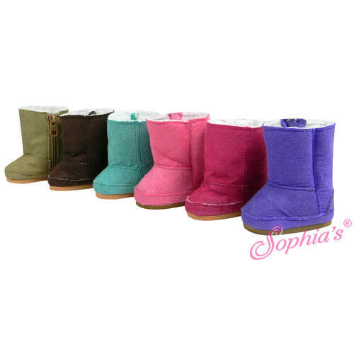 18 Inch Doll Suede Ewe Boots Fits American Girl AG Doll