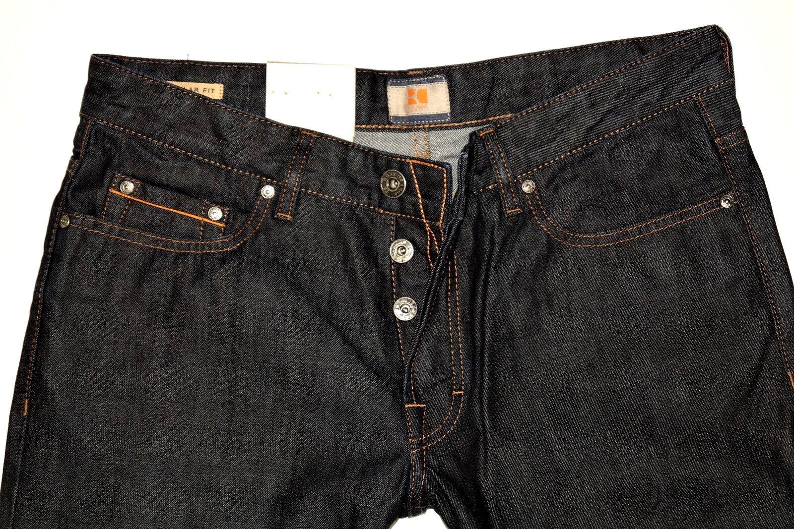 Hugo Boss   31 34   orange 31   Pure Denim   Regular Jeans   W31 L34