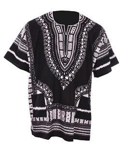Afrique Noire Unisexe Ce Dashiki D'chemise Dp3578 Petit à 7xl Plus Size-afficher Le Titre D'origine Dans Beaucoup De Styles