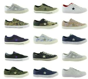 Converse-All-Star-Chuck-One-Star-Ox-Pro-Cuir-Baskets-Chaussures-Taille-au-choix