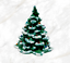 Vtg-70-039-s-Ceramic-Christmas-Tree-With-Colored-Bulbs-Snow-Capped-Small thumbnail 1