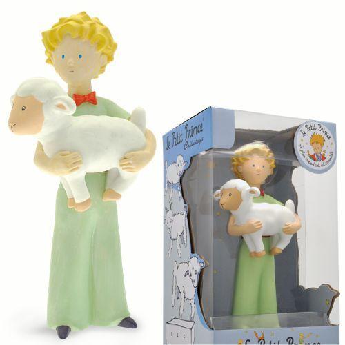 Plastoy Il Piccolo Principe Montone Resina Le Petit Prince et le mouton 21 cm