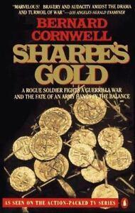 Sharpe-039-s-Gold-Cornwell-Bernard-0140243054-Book-Good