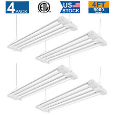 3 Pack LED SHOP LIGHT 4Ft 23W 4000k GARAGE WORK BENCH FIXTURE LAUNDRY UTILITY