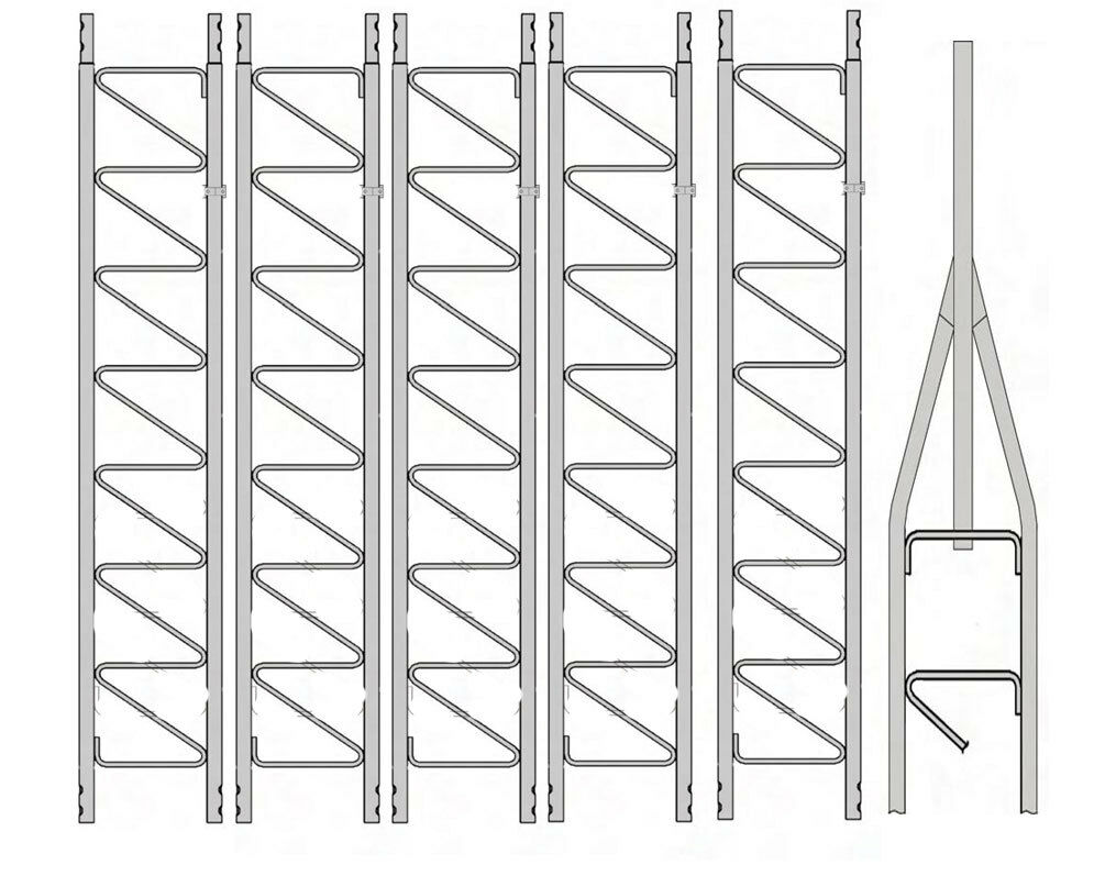 Rohn 25G Series 60' Basic Tower Kit. Buy it now for 988.00