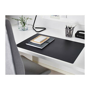 Image Is Loading IKEA BLACK DESK PROTECTOR PAD MAT TABLE TOP