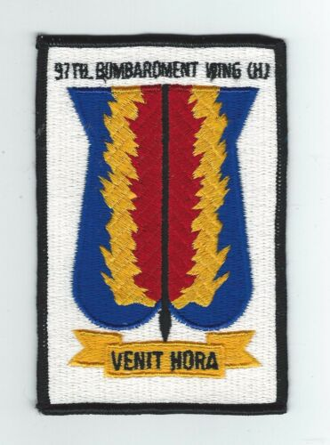 1950s60s 97th BOMB WING patch