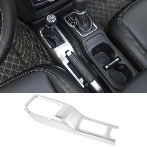 Car Interior Shift Control Panel Gear Knob Cover Trim For 2018 Jeep Wrangler JL
