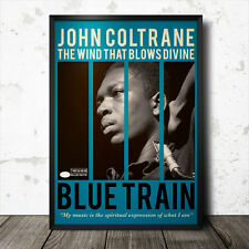 POSTER Artistico John Coltrane Musica BLUES JAZZ BLUE NOTE