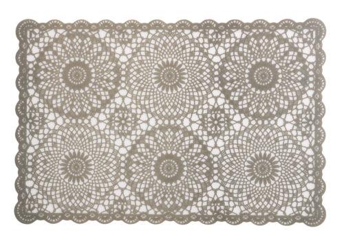 Tischset Casa Häkeloptik 6er Set 30x45cm