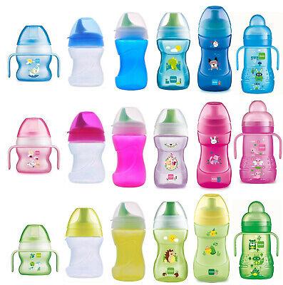 Baby Trinklernbecher Flasche Trinkbecher Kinder Strohhalmbecher mit Griff Tasse