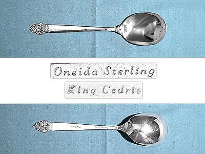 "Oneida Sterling KING CEDRIC FORK 7 1//4/"" 45g No Mono"