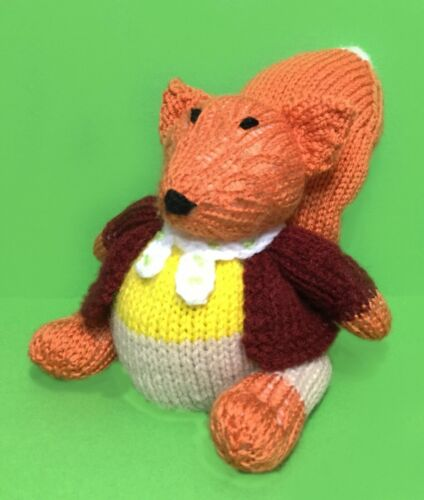 Fantastic Mr Fox inspired chocolate orange cover// 15 cms toy KNITTING PATTERN
