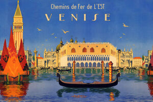 Image result for Venice antique posters