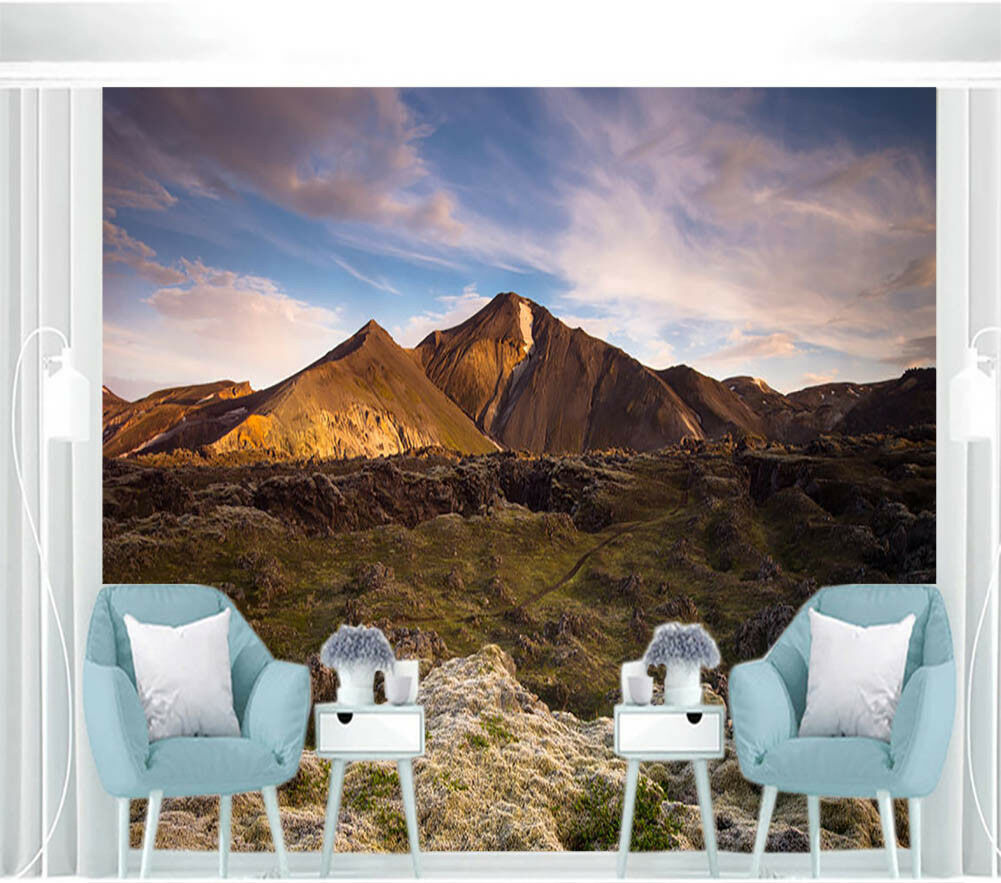 Hilly Topography 3D Full Wall Mural Photo Wallpaper Printing Home Kids Decor