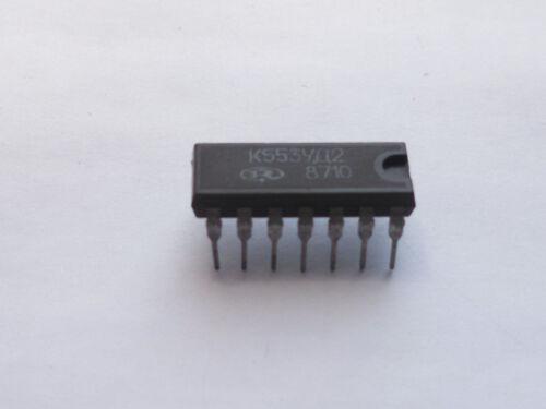 K553UD2 = LM 201 IC Microchip USSR   K553УД2 Lot of 4 pcs  NOS
