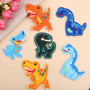 Cute-Dinosaur-Patch-Iron-On-Sew-On-Patches-Lovely-Clothing-Clothes-DIY-Appliques