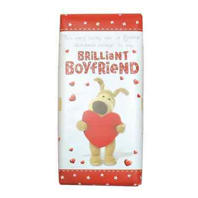 Boofle Brilliant Boyfriend Bar Chocolate Gift Birthday Christmas Valentine Gifts
