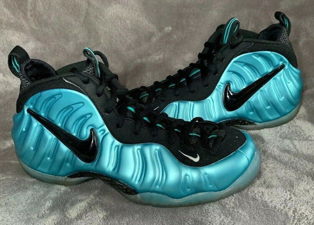 Nike Air Foamposite Pro Electric bluee VNDS Size 11.5 624041-410 no box
