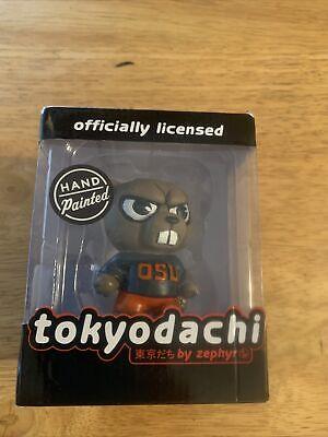 OSU Yorkshire Terrier DogKitschy Handmade Yarn ToyOhio State University MemorabiliaFunny Football KeepsakeScarlet and Gray