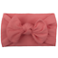 Kids Toddler Flower Bow Turban Knot Headband Hair Band Accessories For Baby Girl