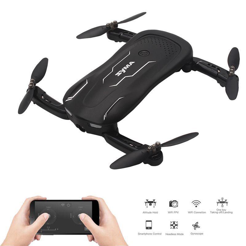 2x (syma z1 RC drone con cámara hd FPV en tiempo real cobrar mantener flujo óptico w4g2