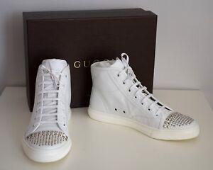 7530997bd3c5fe ... Gucci-senora-zapatos-casual-sneakers-cuero-blanco-talla-