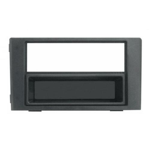 Mascherina 1//2 DIN per Fiat Iveco Daily 07-09 colore nero