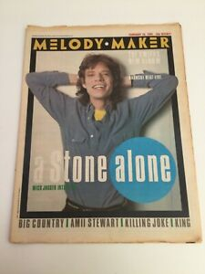 MELODY MAKER Magazine - 16 February 1985MIKE JAGGER - Plus Gig Guide