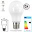 E27-LED-SMD-Leuchtmittel-Gluehlampe-9-W-entspricht-60W-warmweiss-Birne-5-Stueck Indexbild 1