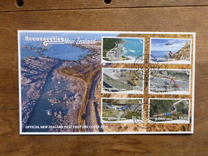 NEW-ZEALAND-2018-RECONNECTION-NZ-SET-6-STAMPS-FDC-FIRST-DAY-COVER