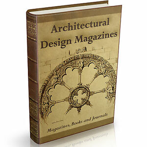 Http Www Ebay Com Itm Architectural Design Magazines 247 Old Books On Dvd Technical Architecture Art 171843959685