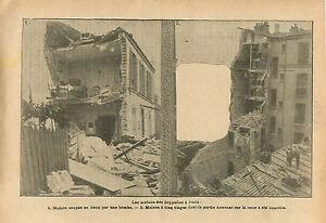 Bombardements-Bombes-dirigeables-Zeppelins-Quartier-Paris-WWI-1916-ILLUSTRATION