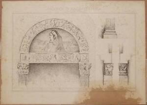 RICORDI-DI-ARCHITETTURA-CONVENTO-DI-RODENGO-BRESCIA-PORTA-DELLA-CHIESA-1800