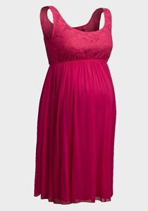 690525601a5e3 Rock-a-Bye Rosie 'Madison' Maternity Dress Coral - Made in England ...