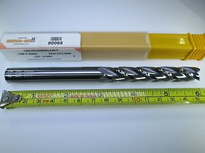 """NEW USA SOLID CARBIDE 1//2/"""" END MILL 6 FLUTE SQUARE CORNER MILLING LATHE TOOL BIT"""