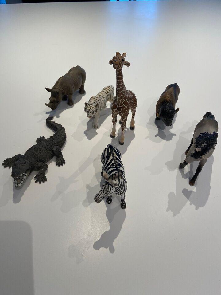 Dyr, Vilde dyr og riddere, Schleich