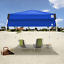 Instant-Canopy-Tent-10x10-Half-Wall-Outdoor-Pop-Up-Patio-Beach-Sun-Camping-Shade thumbnail 2