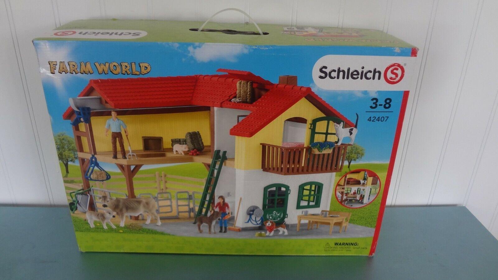 New in Open Box Schleich Farm World Set     Sealed Contents da2e4f