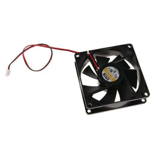 80mm Case Cooler Fan 12V DC PC CPU Computer Cooling Fan 2Wire 2Pin 8025