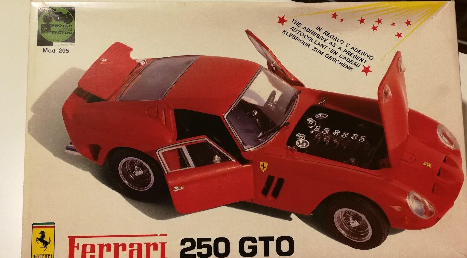 1 24 KIT--FERRARI 250 GTO --- ProugeAR (REF  205) + DECALS