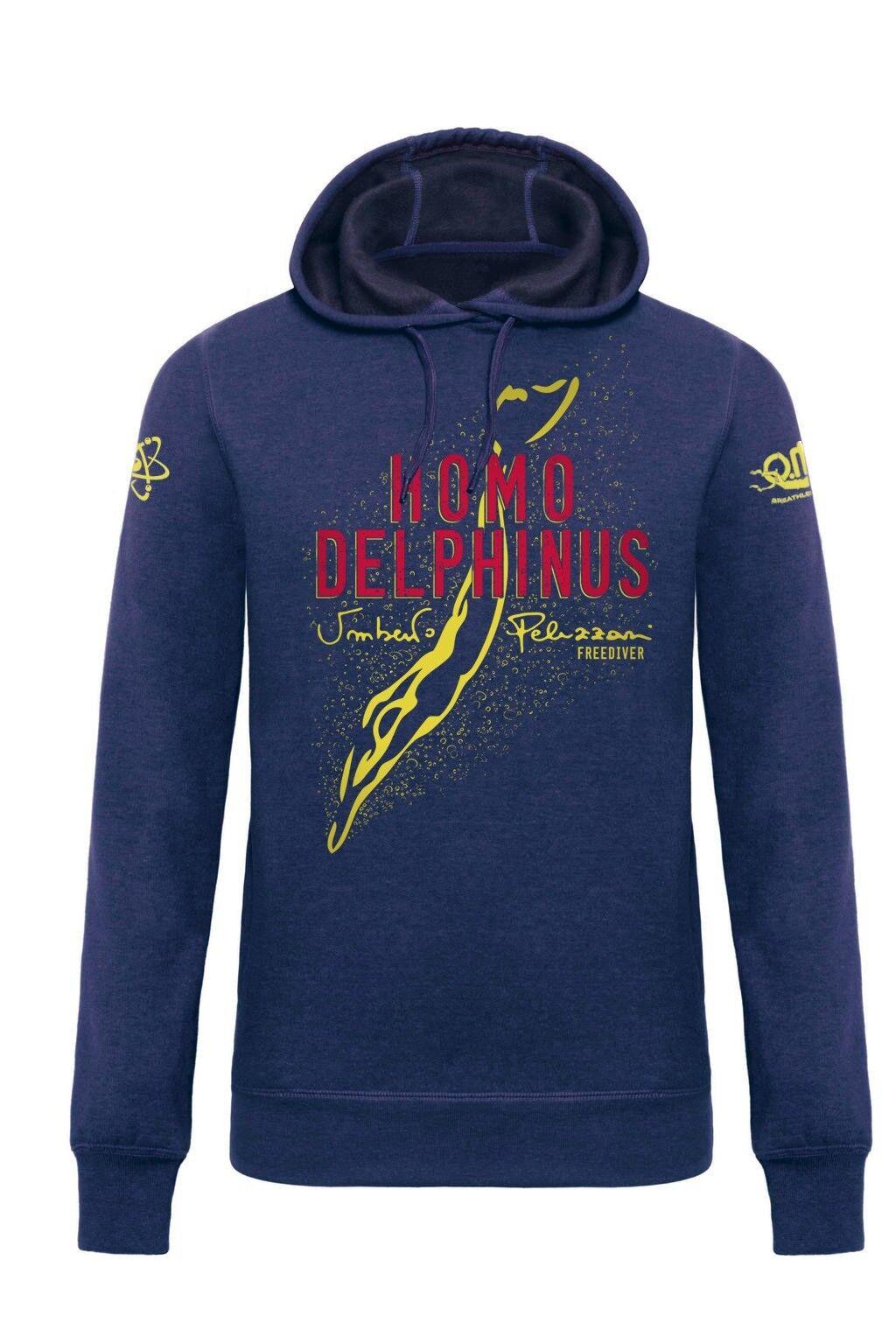 Sweatshirt Homo Delphinus Man - Navy