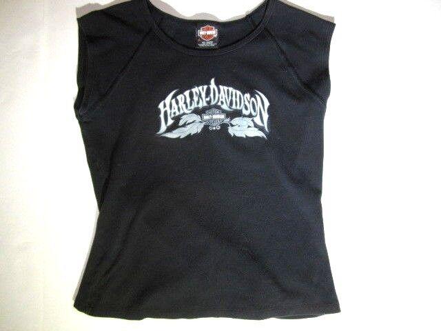 Harley Davidson Granite Mountain Conyers GA Black Tank Top Women's XL