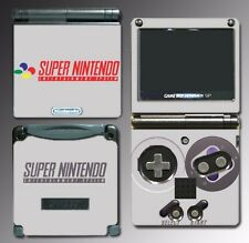Super NES Retro Classic Video Game Decal Skin Nintendo Game Boy Advance GBA SP