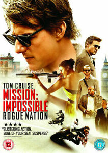 Mission-Impossible-Rogue-Nation-DVD-2015-Tom-Cruise-New-and-Sealed