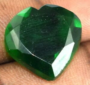 Muzo Colombian Emerald Natural 21.55 Ct Heart Shape Certified H952 Valentine's