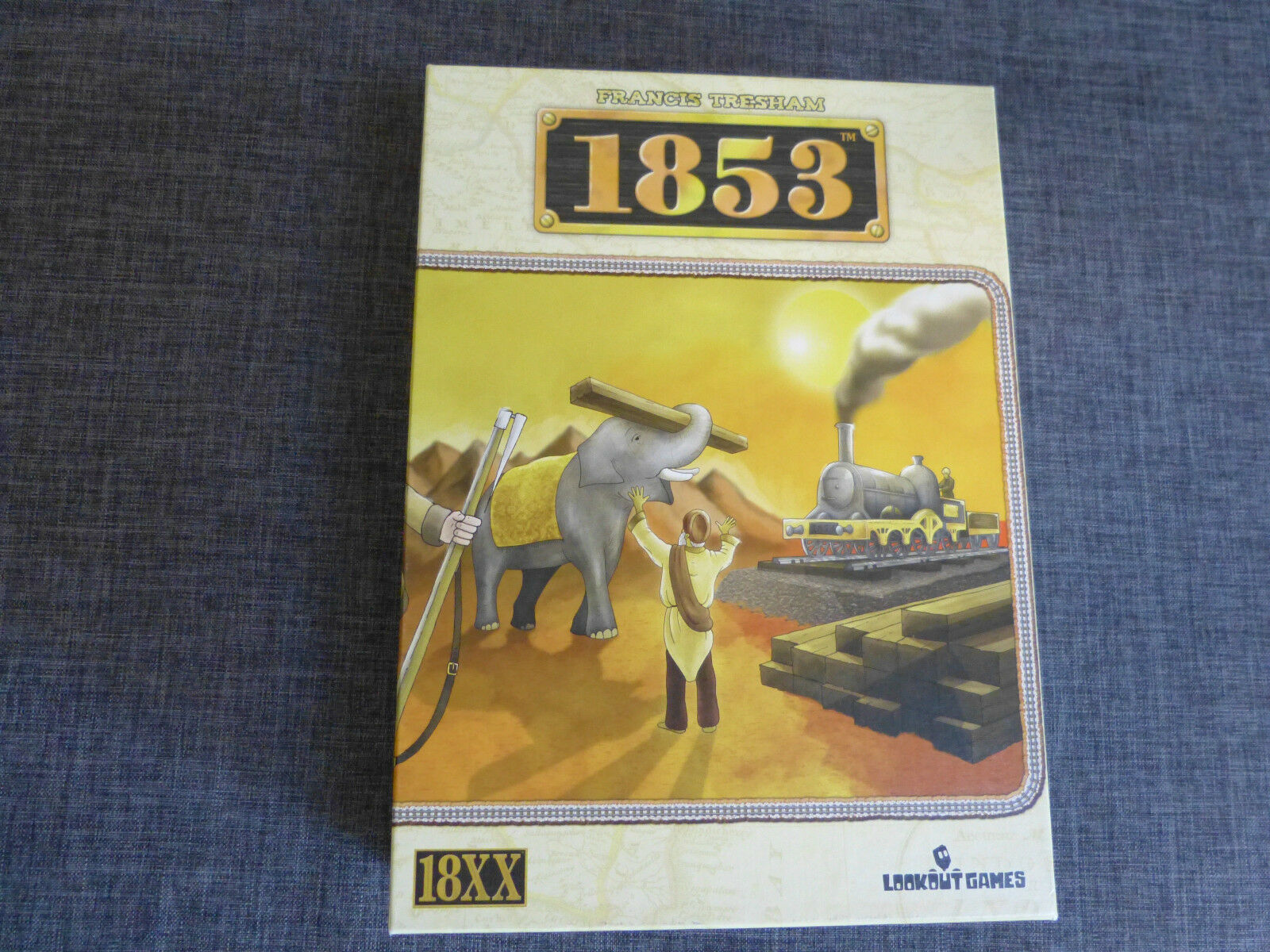 1853 Board Game Game Game - Francis Tresham - 18XX Train Game - Lookout Games fb06ca